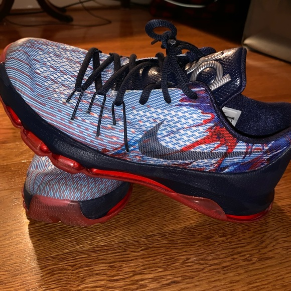 "new styles 874de 07486 Nike KD 8 ""USA"" Independence Day"